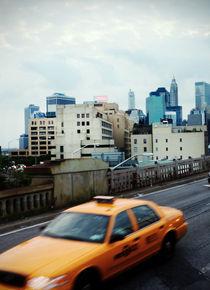 Brooklyn Bridge Storm Front by Jessie English