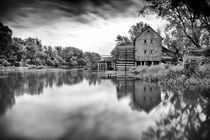 Watermill in Jelka by Zoltan Duray