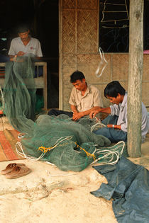 Fishermen - Hoi An - Vietnam von captainsilva