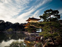 Kinkakuji - the golden pavillion - Kyoto by Thomas Cristofoletti