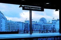 Blick auf den Reichstag by Christian Behring