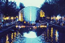 canals at night von Rebekah Campbell