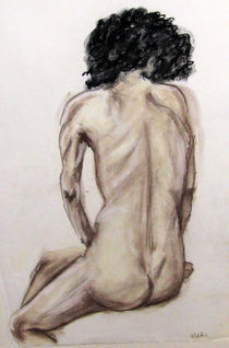 Life-drawing-oil-pastel