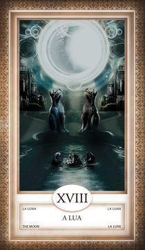 TAROT - card # 18 - a lua von Anderson Almeida