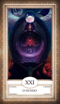 TAROT - card # 21 - o mundo von Anderson Almeida