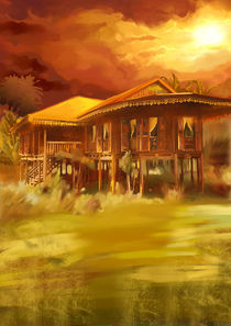Malay Kampong House by cloudrious