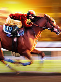 Horse Racing von cloudrious