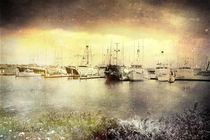 Seaport Village View by Rozalia Toth