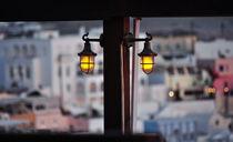 Yellow Scenic Lights von Katerina Vorvi