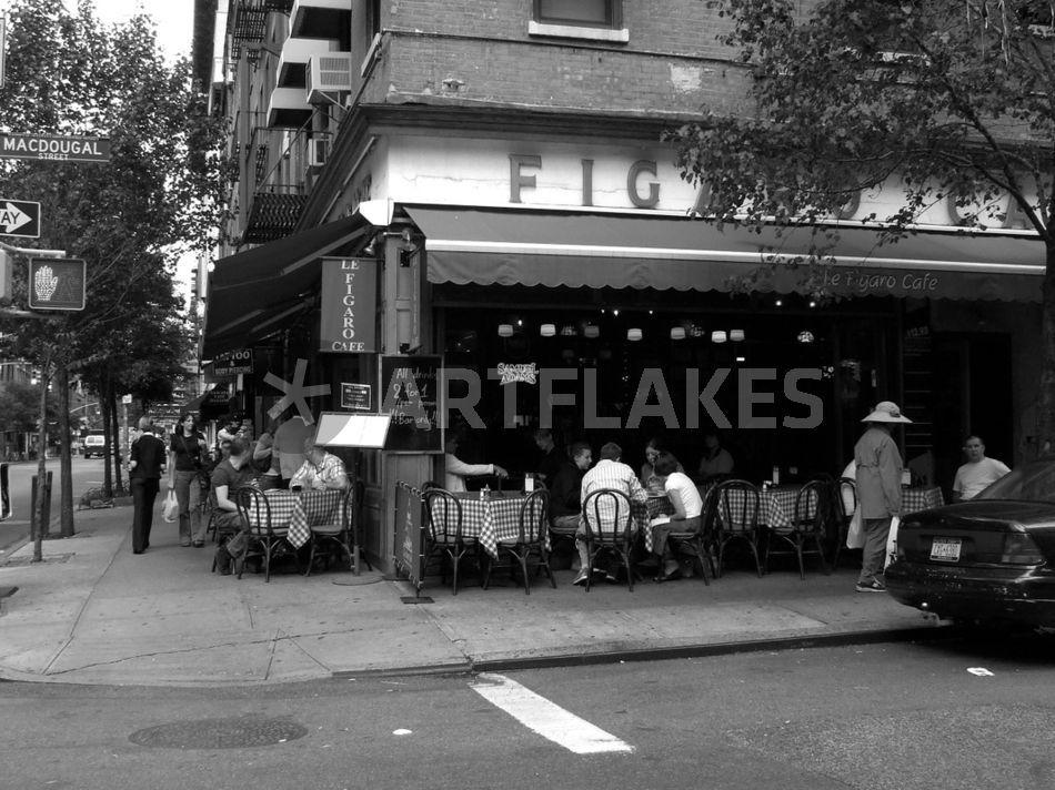 Le Figaro Cafe Nyc Menu