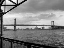 New York City Manhattan Bridge von Jedrzej Jonasz