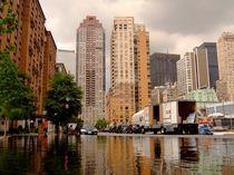 New York City Downtown Reflection von Jedrzej Jonasz
