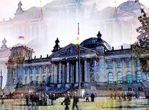 Zum Tag der Deutschen Einheit - Der Reichstag by Eckhard Röder