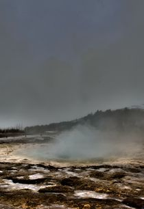 Geysir, Iceland by Simeon Jones