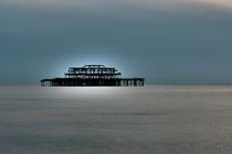 The old pier, Brighton by Simeon Jones