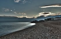 Brighton Beach by Simeon Jones