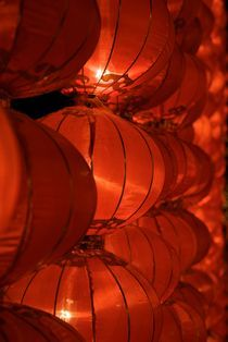 Lanterns, Chongqing by Simeon Jones