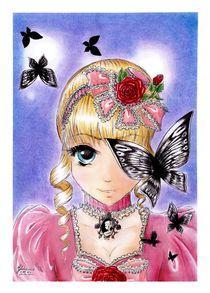 Little Black Butterflies... by Judyta Hejniak