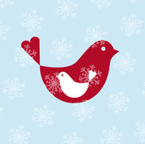 christmas bird by thomasdesign