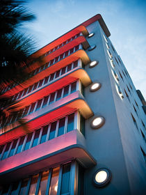 Art Deco South Beach Miami 2 by Darren Martin