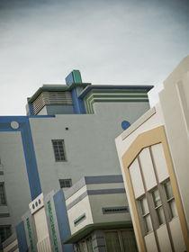 Art Deco South Beach Miami by Darren Martin