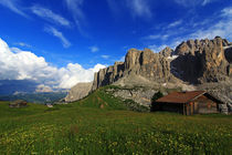 Dolomitenpanorama by Wolfgang Dufner
