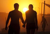 Couple Sunset von Reinaldo Smoleanschi