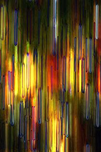 melting something - Streifen - schmelzen by Jens Berger