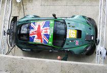 Aston Martin DBR9 at Le Mans von designandrender