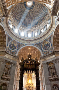 Baldachin, St. Peter, Vatican by Michael Schickert