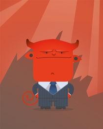 Important devil by jose Manuel del Solar
