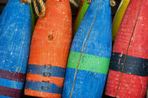 Colorful Buoys by John Greim