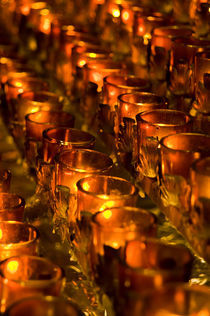 Votive candles by John Greim