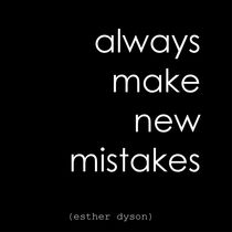 Always Make New Mistakes by Jennie Lane