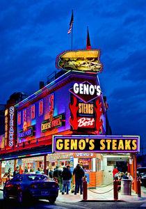 Geno's Steaks, Philadelphia, PA von John Greim