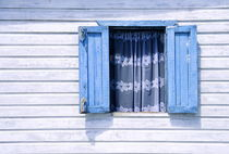 Blue Window, White Lace von John Greim
