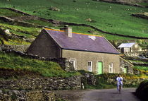Rustic cottege, County Kerry, Ireland by John Greim