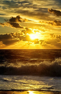 Ocean Sunrise by John Greim