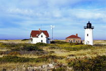Race Point Lighthouse, Cape Cod, USA von John Greim