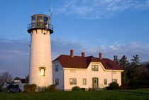 Chatham Lighthouse, Cape Cod, USA by John Greim
