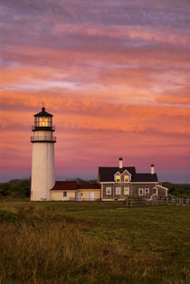Cape Cod Lighthouse, Truro, Cape Cod, USA von John Greim