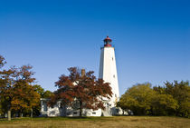 Sandy Hook Lighthouse, Sandy Hook, NJ, USA von John Greim