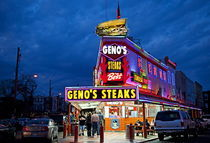 Geno's Steaks, Philadelphia, USA by John Greim