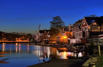 Boathouse Row, Philadelphia, Pennsylvania, USA by John Greim