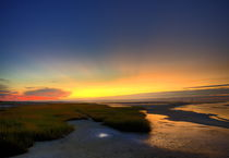 Seascape sunset, Cape Cod, USA von John Greim
