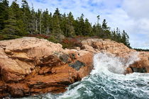 Coastline, Acadia National Park, Maine, USA by John Greim