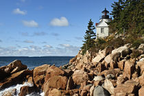 Bass Harbor Lighthouse, Maine, USA von John Greim
