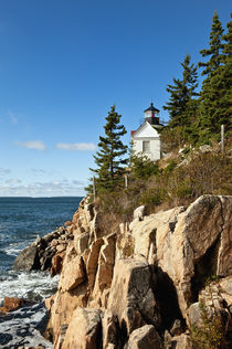 Bass Harbor Lighthouse, Maine, USA by John Greim