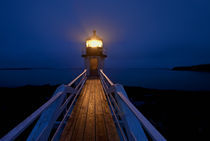 Marshall Point Lighthouse, Maine, USA von John Greim