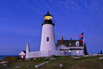Pemaquid Point Lighthouse Maine, USA by John Greim